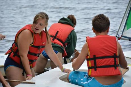 Teach the basics of boater safety
